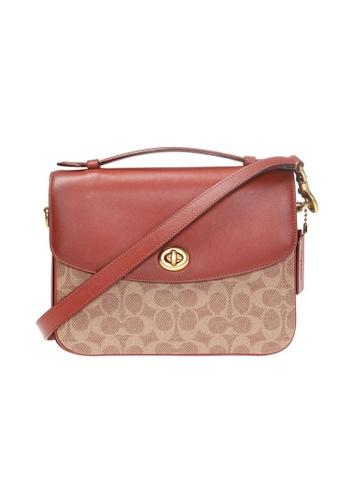 Coach brown Coach Cassie Crossbody Bag in Tan/Rust/Brass 27A98AC182D416GS_1