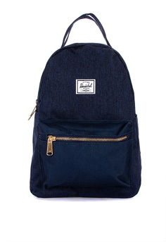 a5804c507ed Herschel blue Nova Small Backpack AA5B8AC95A332CGS 1