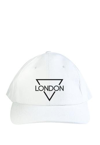 HYPE MNL white London Baseball Cap F3E6DACC5D990AGS_1