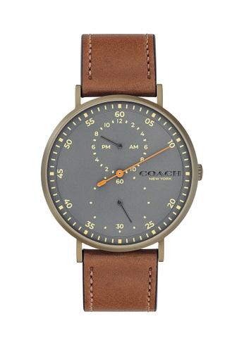 Coach grey Coach Charles Grey Men's Watch (14602474) 247B2AC271CF46GS_1