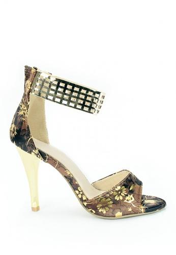 Cardam's Lifestyle brown Lovi Heeled Sandals CA993SH0J233PH_1