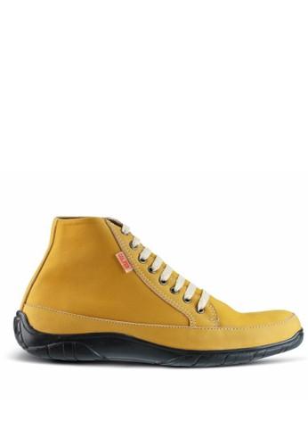 Sogno brown Sepatu Boot Pria GF.7004 B75C1SHD1E2AD3GS_1