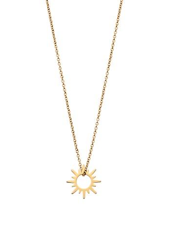 Dear Addison gold Sunshine Necklace 3ACB7AC96677EFGS_1