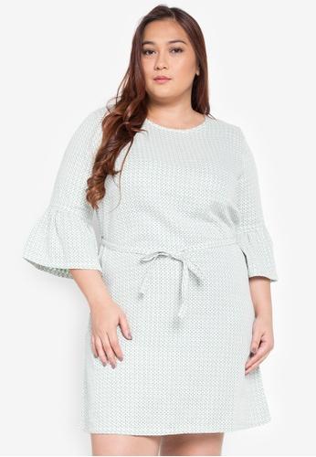 Maldita X green Kylie Plus Size Checkered Dress MA587AA0KOXMPH_1