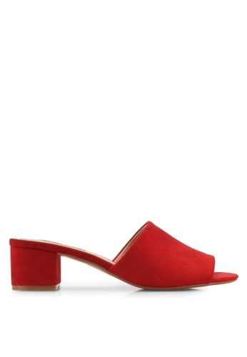 ZALORA red Easy Heeled Sliders 6BBB6SH1D1105CGS_1