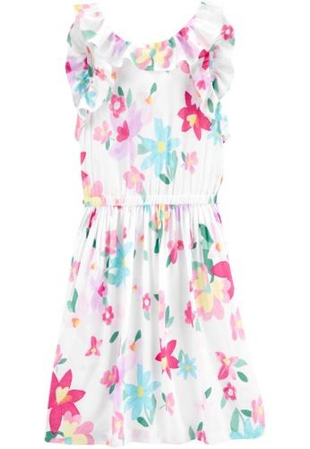Carter's white CARTER'S GirlEaster Floral Dress 3BAB3KA8E72134GS_1