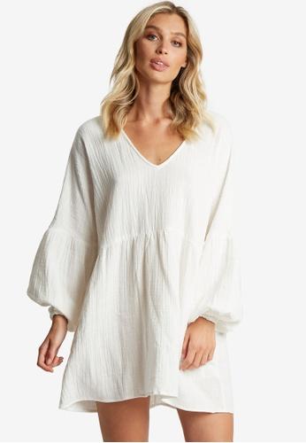 The Fated white Zamani Dress F4B43AAF33FA92GS_1