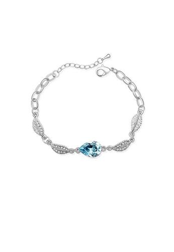 ADORA blue Swarovski Crystal Bracelet 0C22BAC13D8034GS_1
