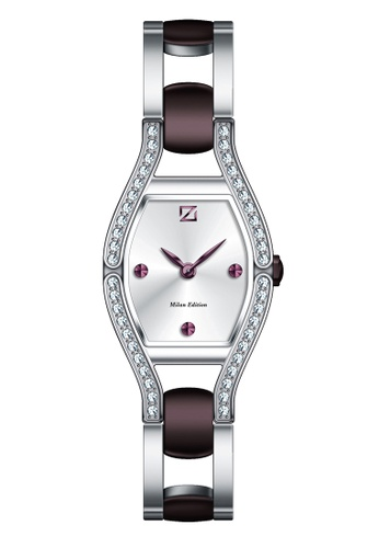 ZECA purple and silver Milan Edition Female Analogue - 142L.S.P.PU1 631ADAC54ABAA6GS_1