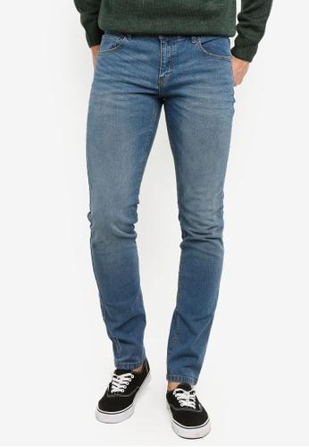 OVS 藍色 緊身牛仔褲 AEA7EAAEF01D43GS_1
