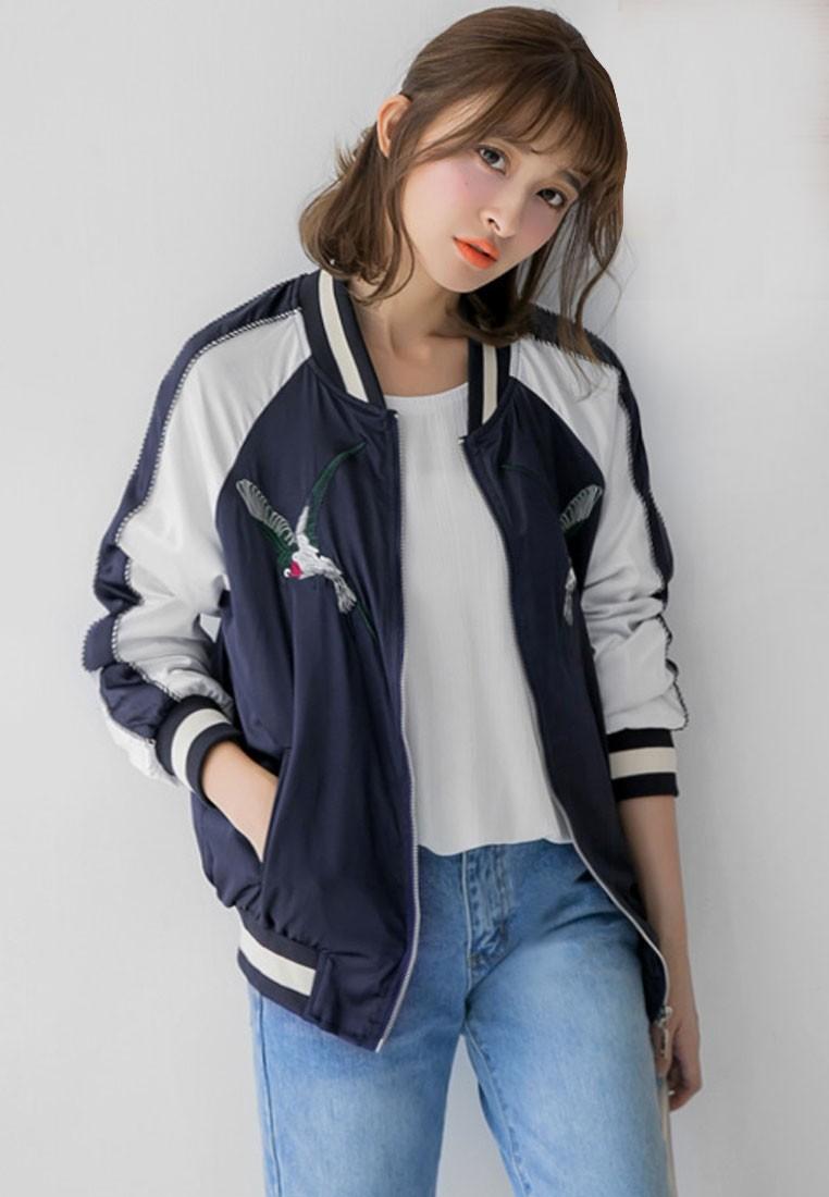 Street Style Chic Bomber Jacket