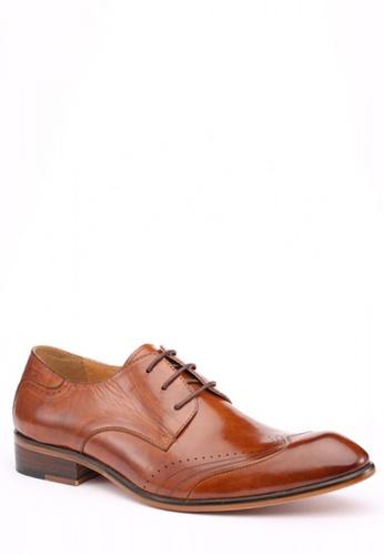 Kings Collection brown Richfield Formal Shoes KI877SH51ZKAPH_1