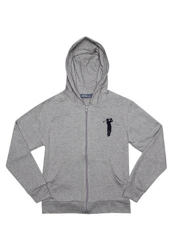 BOSSINI KIDS grey Hoodie Jacket B1EBAKA3DB6192GS_1