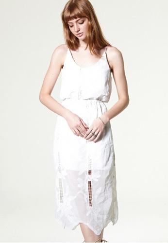 Storets white Lauren Embroidery Dress Set ST450AA0GO5JSG_1