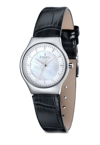 OLLE 三指針皮革錶, 錶類, 飾esprit童裝門市品配件
