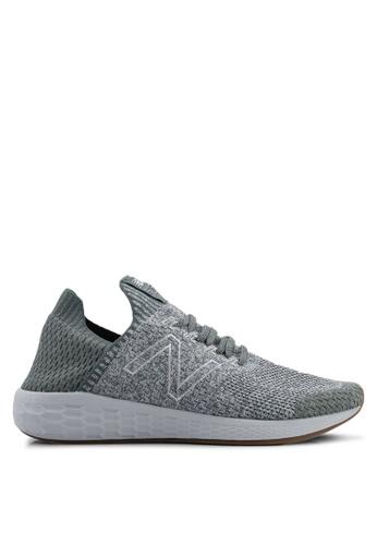 New Balance black Cruz Future Sport Sock Shoes 888E6SH9DE53BCGS_1
