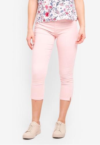 Dorothy Perkins pink Pale Pink Eden Crop DD00AAA1DDAC69GS_1