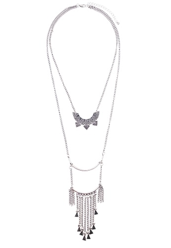 LUCCACAL Cortez Layered Necklace LU294AC0RE1PMY_1