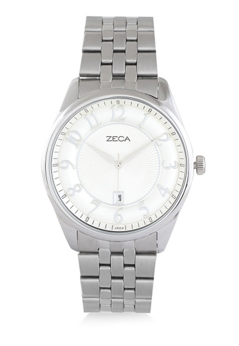 ZECA silver Zeca Watches Couple Ladies Fashion Stainless Steel Analog - 3003L Silver ZE074AC0UL1KID_1