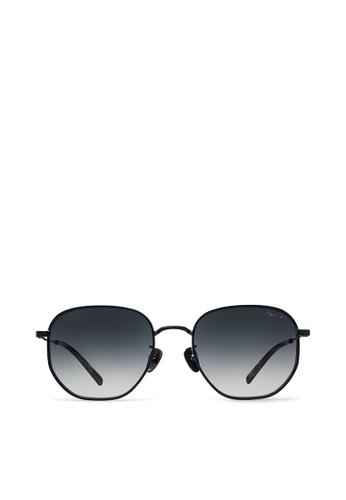 agnès b. blue agnès b. Metal Sunglasses AB10023 Audrey 5B438GLBBF368CGS_1