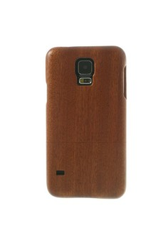 Genuine Wood Full Cover for Samsung S5