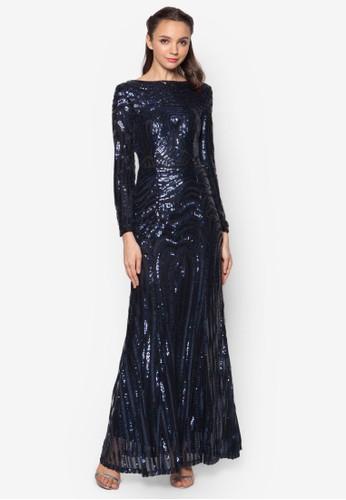 Seqesprit 台灣uin Mermaid Dress, 服飾, 長洋裝