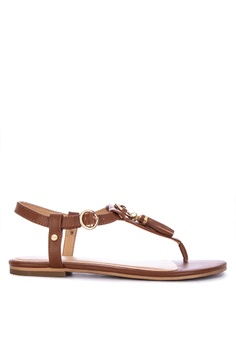 e8b852722be2 AEROSOLES brown Short Circuit Thong Sandals 9DA3CSH231BEFDGS 1