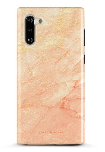 Polar Polar pink Sunset Samsung Galaxy Note10 Dual-Layer Protective Phone Case (Glossy) 50675ACD153B0AGS_1