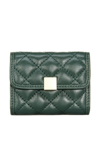 HAPPY FRIDAYS Multifunctional Rhombic Texture Leather Wallet JN8066 36CC7ACBEC634AGS_1