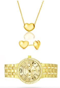 18k Gold Plated Sweet Love Set