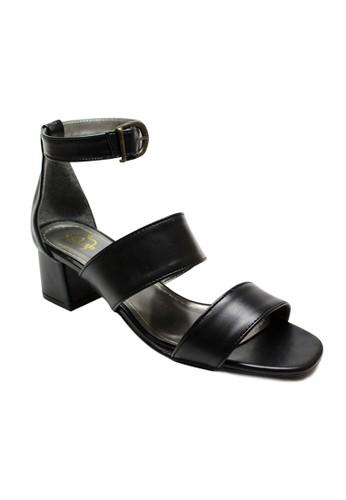 MIKA black Padma Black Sandal Heels MI737SH58UBXID_1