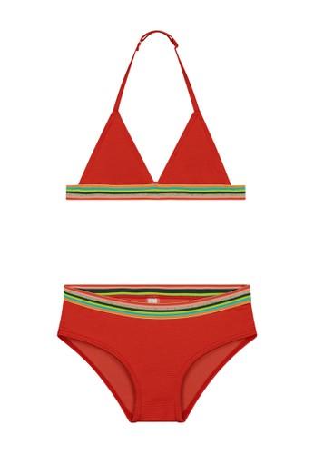 Shiwi red Rainbow Triangle Bikini 47C86KA22E89FFGS_1