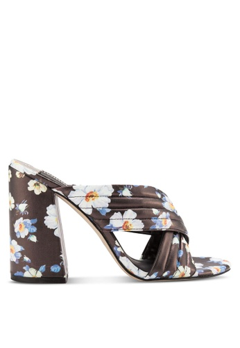 Dorothy Perkins multi Floral Sydney Cross-over Mules DO816SH39LWIMY_1