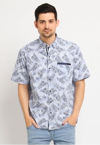 Poshboy blue Poshboy Shirt Bale 5FAC5AA2D7450DGS_1