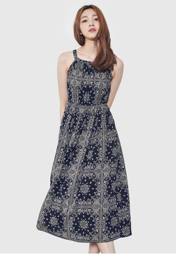 民族風印花洋裝, 服飾,esprit暢貨中心 洋裝