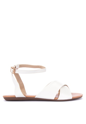 Shop So Fab! Angel Ankle Strap Sandals Flats Online on ZALORA ...