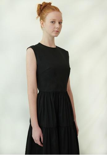 TAV [Korean Designer Brand] Murray Dress - Black 099B9AA40B37D1GS_1