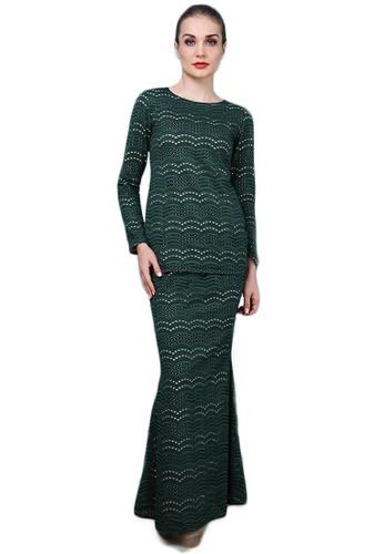 Maribeli Butik green Maribeli Butik Vivie Lace - Emerald Green  24424AA99D8A12GS 1 9885b8a49