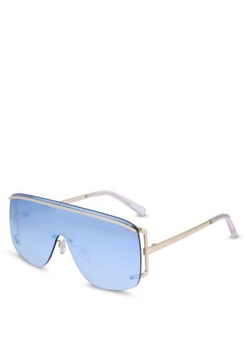 Le Specs gold Elysium 1702081 Sunglasses 5E487GL035389AGS_1