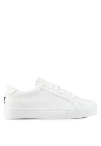 Twenty Eight Shoes white Sweet Emoji Sneakers BDB89SHD9EF573GS_1