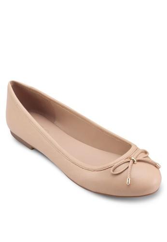 Laori 蝴蝶結金屬感平底鞋esprit outlet 台灣, 女鞋, 鞋