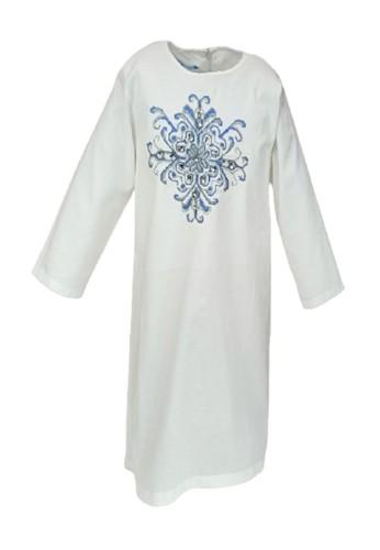 Versail white Versail Junior Tunic Strimin White R1033W DF146KAE0923D9GS_1