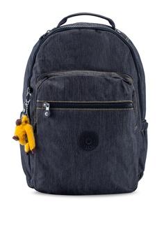 2e6c12cee Kipling black Seoul Go Backpack 572DBAC55F3613GS_1