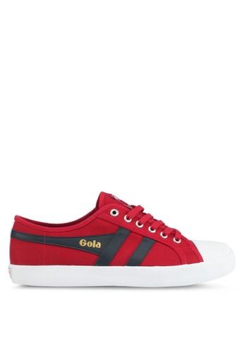 Gola red Coaster Sneakers 070A0SH086BA07GS_1