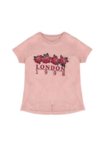 FOX Kids & Baby pink Kids Girls Short Sleeve Tee 4BC52KA0DF9475GS_1