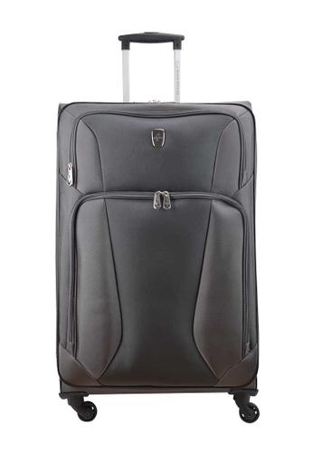 Atlantic grey Atlantic 24 inch Expandable Spinner Soft Case Luggage - AP-5027U3A-GREY B6D73AC2B37A3EGS_1