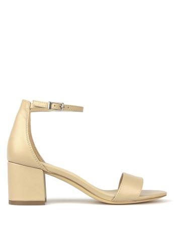 Betts beige California Block Heel Sandals 5AF7ESH7E49F9CGS_1