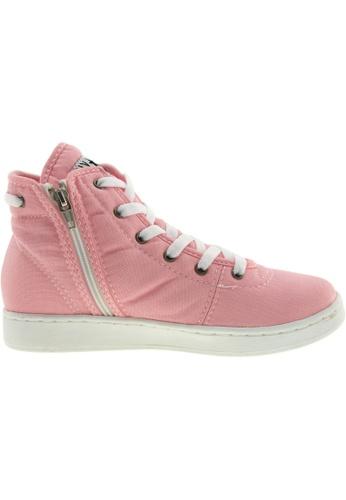 Maxstar pink Maxstar Women's 020 Hidden Heel Canvas Tennis Shoes US Women Size MA164SH25PTISG_1