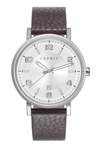 ESPRIT silver Esprit Liam Silver Watch ES400AC89DDESG_1