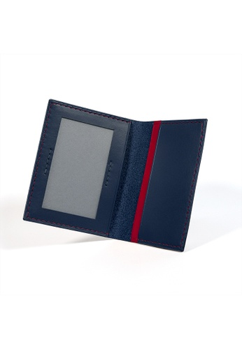 Kulor Cases blue Peacock Blue and Crimson Red Leather Bidfold Cardholder 33A76AC6716FF1GS_1